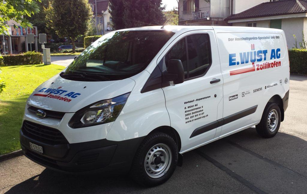 E. Wüst AG Service Fahrzeug