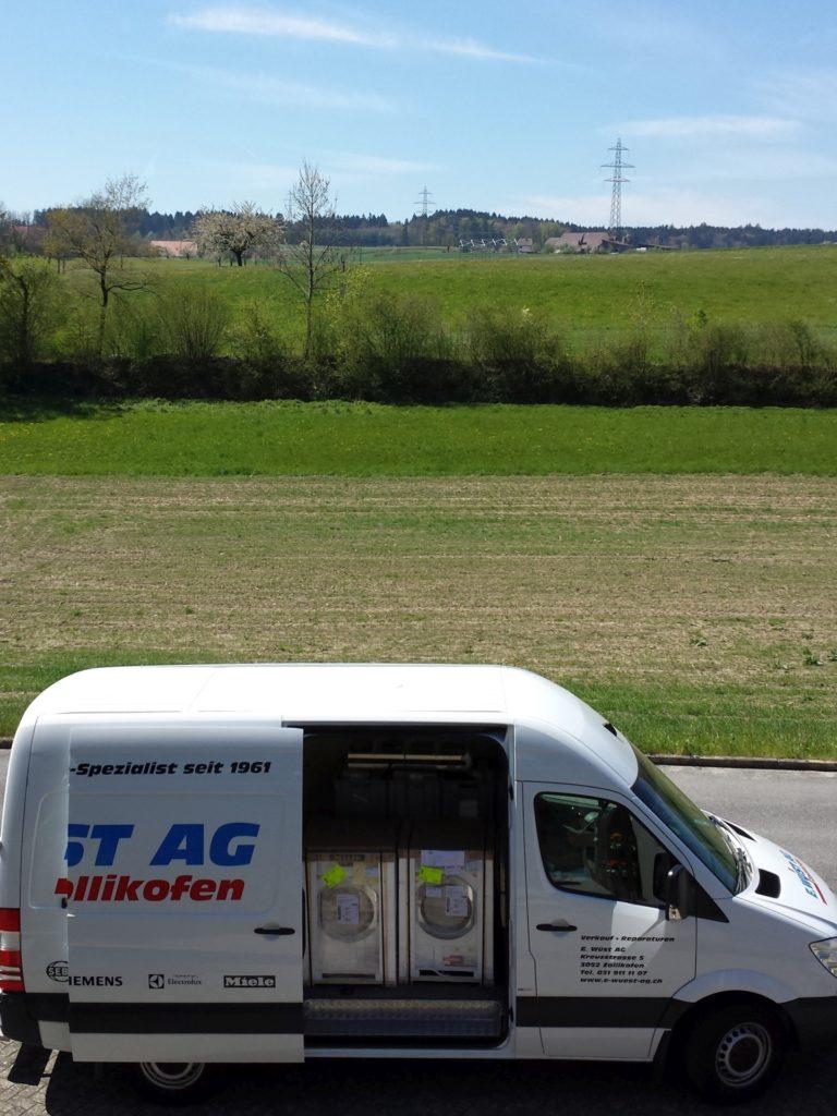 E. Wüst AG Haushaltgeräte Fahrzeug